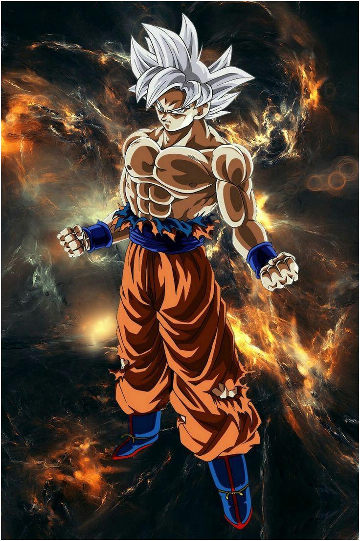 Goku Mastered Ultra Instinct DB | Fond d'ecran dessin ...