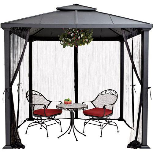 b337a0def56fa944431bc2431f77e4a3 - Better Homes And Gardens Sullivan Ridge Hardtop Gazebo With Netting