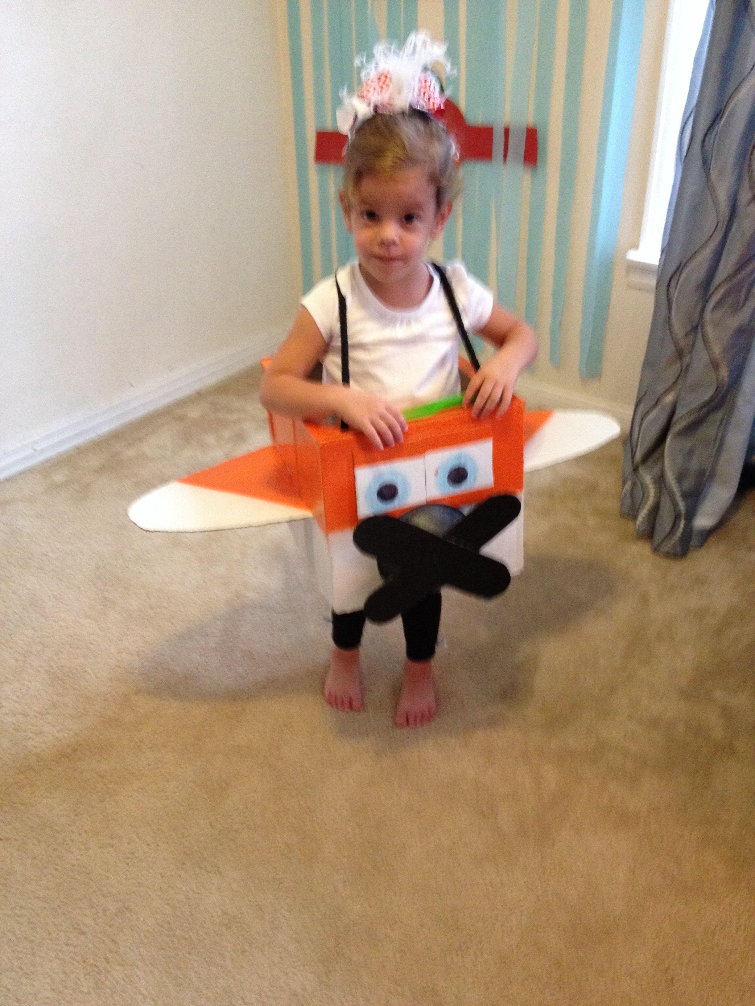 diy airplane costume i