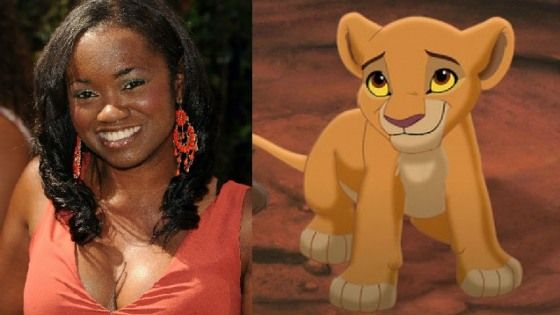 niketa calame is the voice of young nala in  u2018the lion king