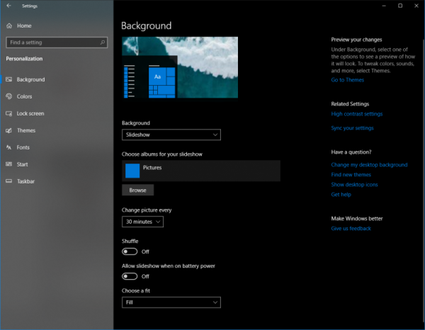 This Article Demonstrates How To Import The Windows Spotlight Images To A Destination Folder And Then Use It For Desktop Backgro Windows Theme Background Image