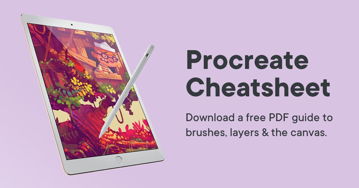 Free Procreate Cheatsheet A PDF Guide to Brushes, Layers