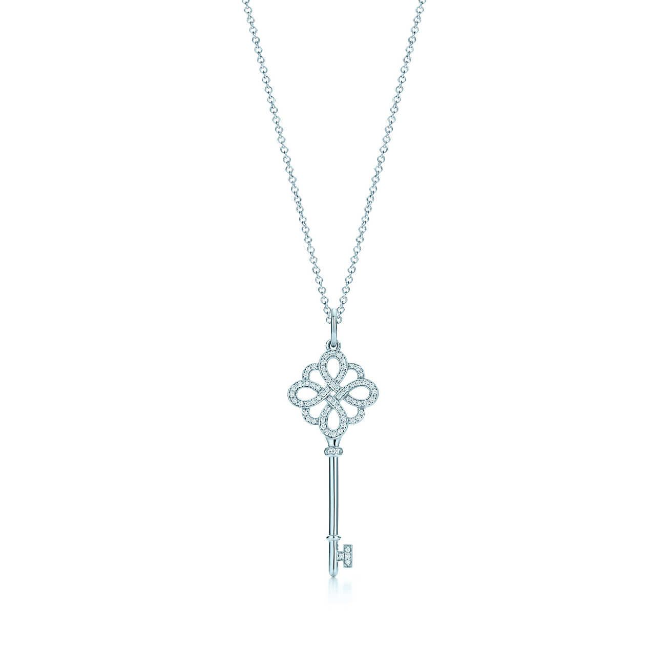7819a422f22c0 Tiffany Keys Knot Key Pendant in 2019   Accessories Inspiration ...