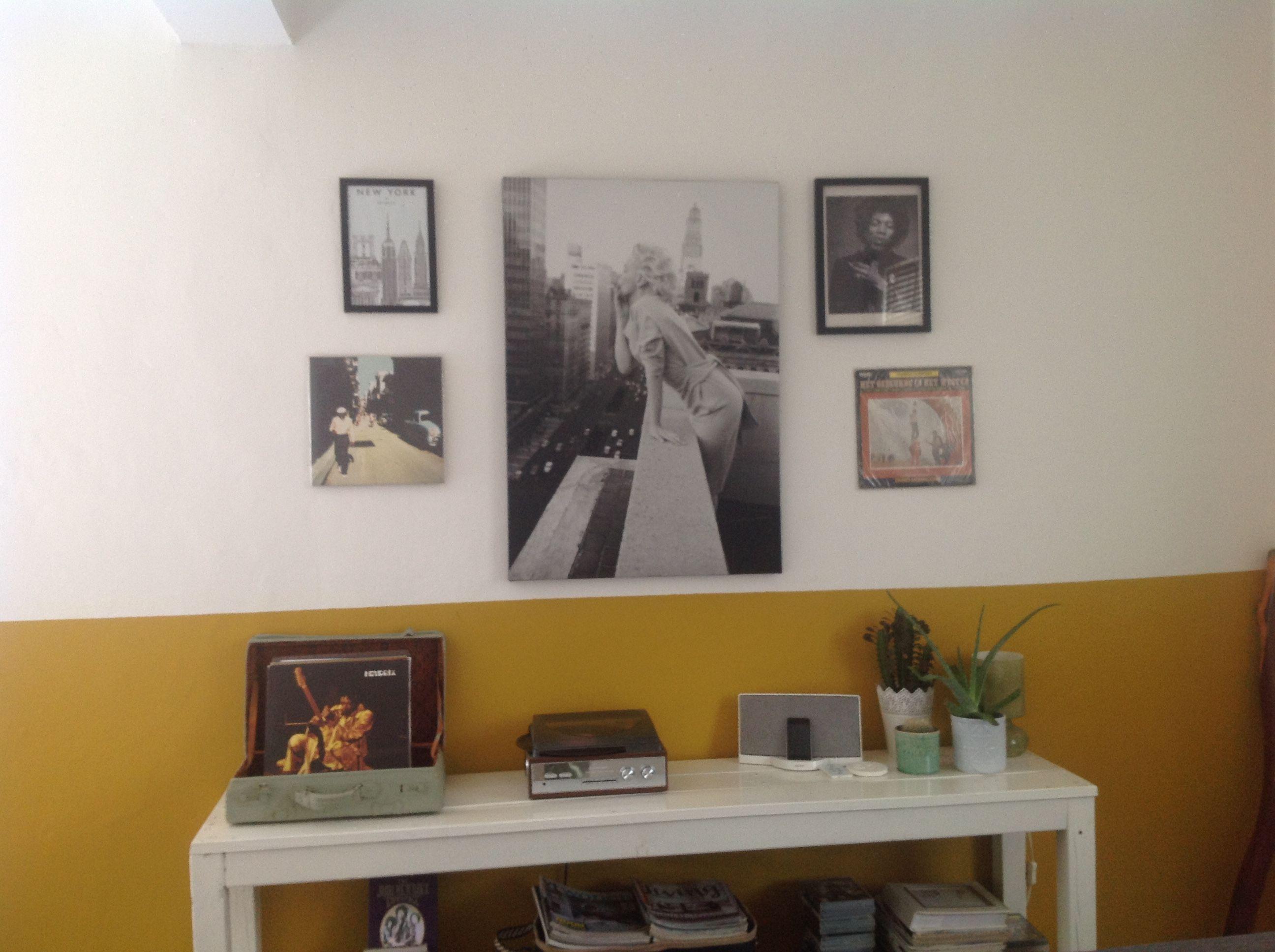 Muurdecoratie woonkamer | Anne en Martijn\'S home | Pinterest