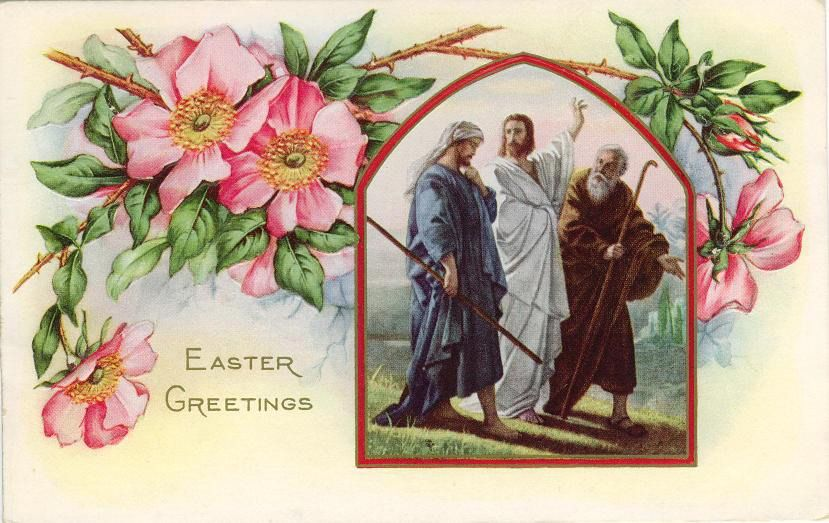 Free Vintage Religious Easter Cards Easter ideas Pinterest - free printable religious easter cards