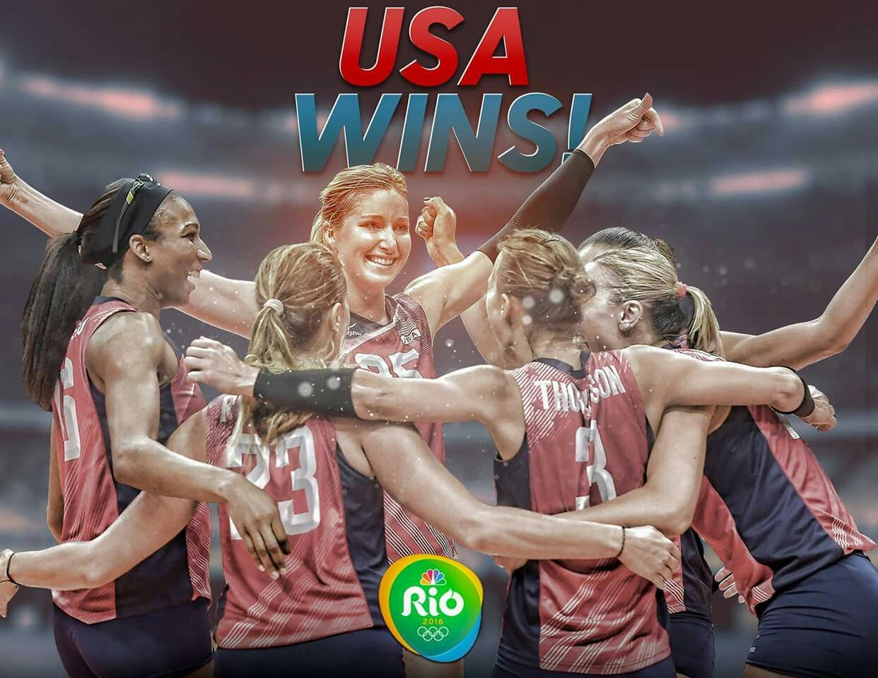 Team Usa Defeats Netherlands To Win Bronze In Women S Volleyball Nbc Olympics Olympic Volleyball Olympics