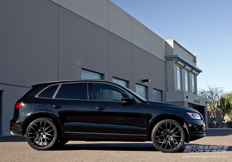 Audi q5 black rims. Loving the black rims!!!! | Jeep Life ...