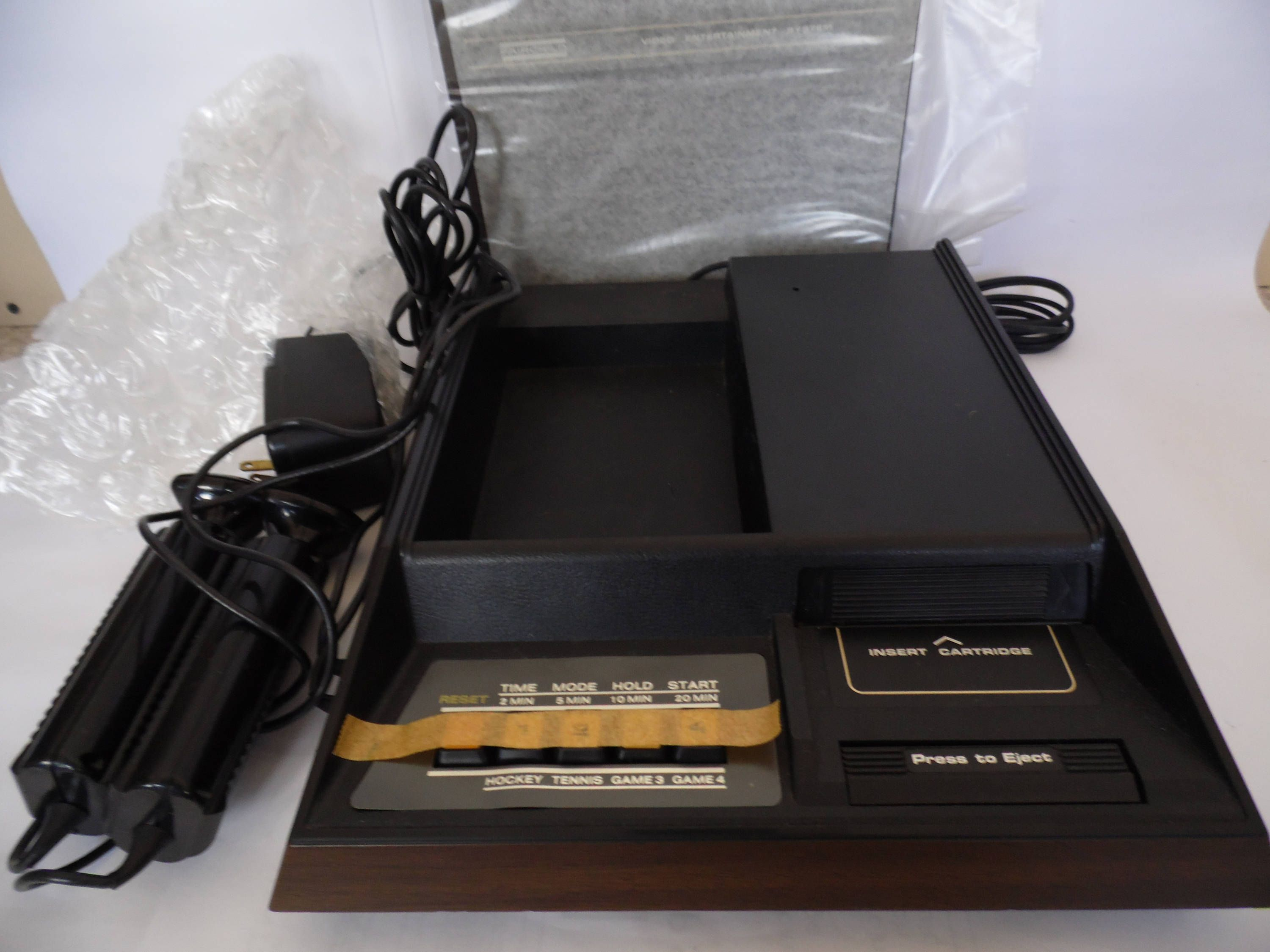 Fairchild Video Entertainment System Channel F video game