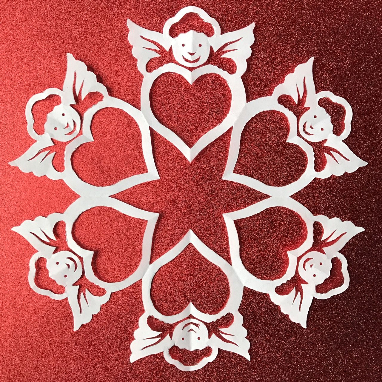 Valentine S Day 10 Pack Bundle Snowflake Patterns