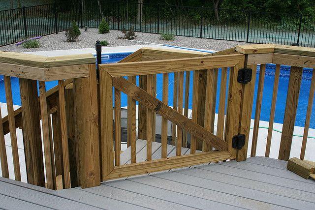 Bpurcell Org Building A Self Closing Deck Gate Deck Gate