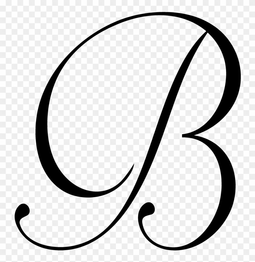 Download Hd B Letter Png File Download Free Monogram Letter B Png Clipart And Use The Free Clipart For Your Creative Free Monogram Monogram Letters Letter B