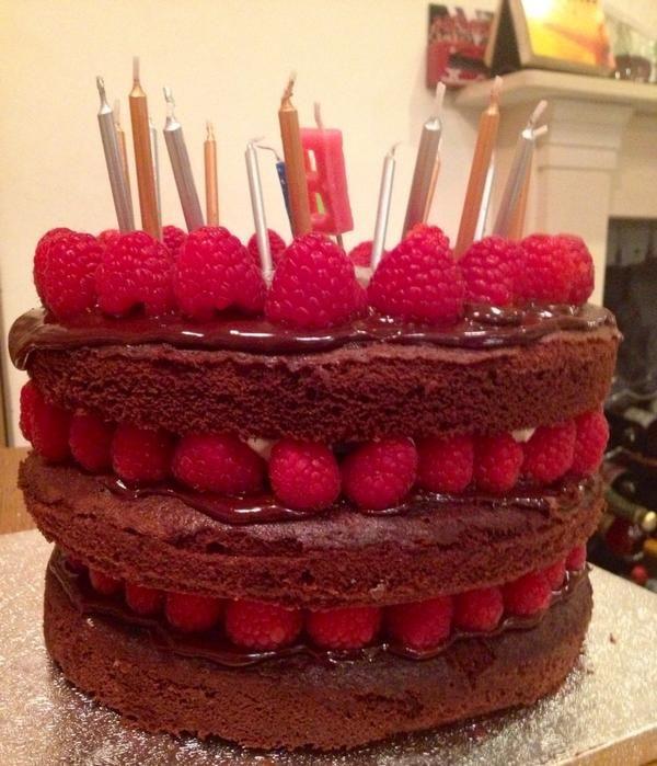 Lorraine Pascale Chocolate Cake With Raspberries