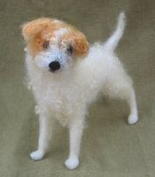 Needle Felted Red Fox by ~HStiLeS on deviantART