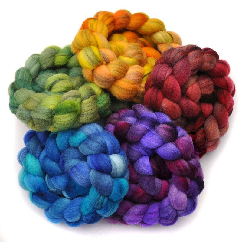 Merino Wool Roving for Felting SAVE: 2 ounces BLUE