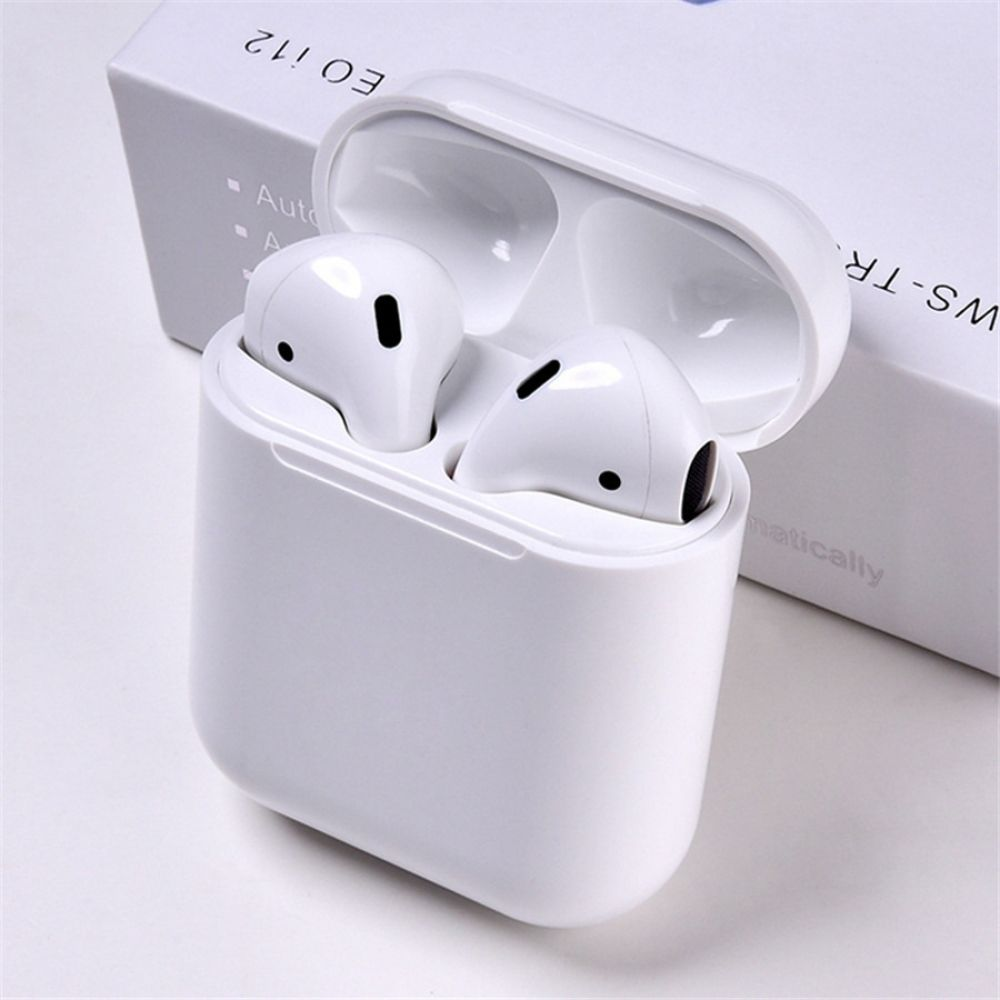 Wireless Pop Up Bluetooth 5 0 I12 Tws Mini Earbuds Touch Control Earphones Headsets For Iphone Samsung Xiaomi Pk I7s I11 I14 I20 Microflow Headphones Earbuds Bluetooth Earphones