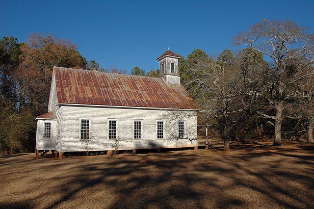 Georgia Little Church Powelton Methodist Church Hancock County
