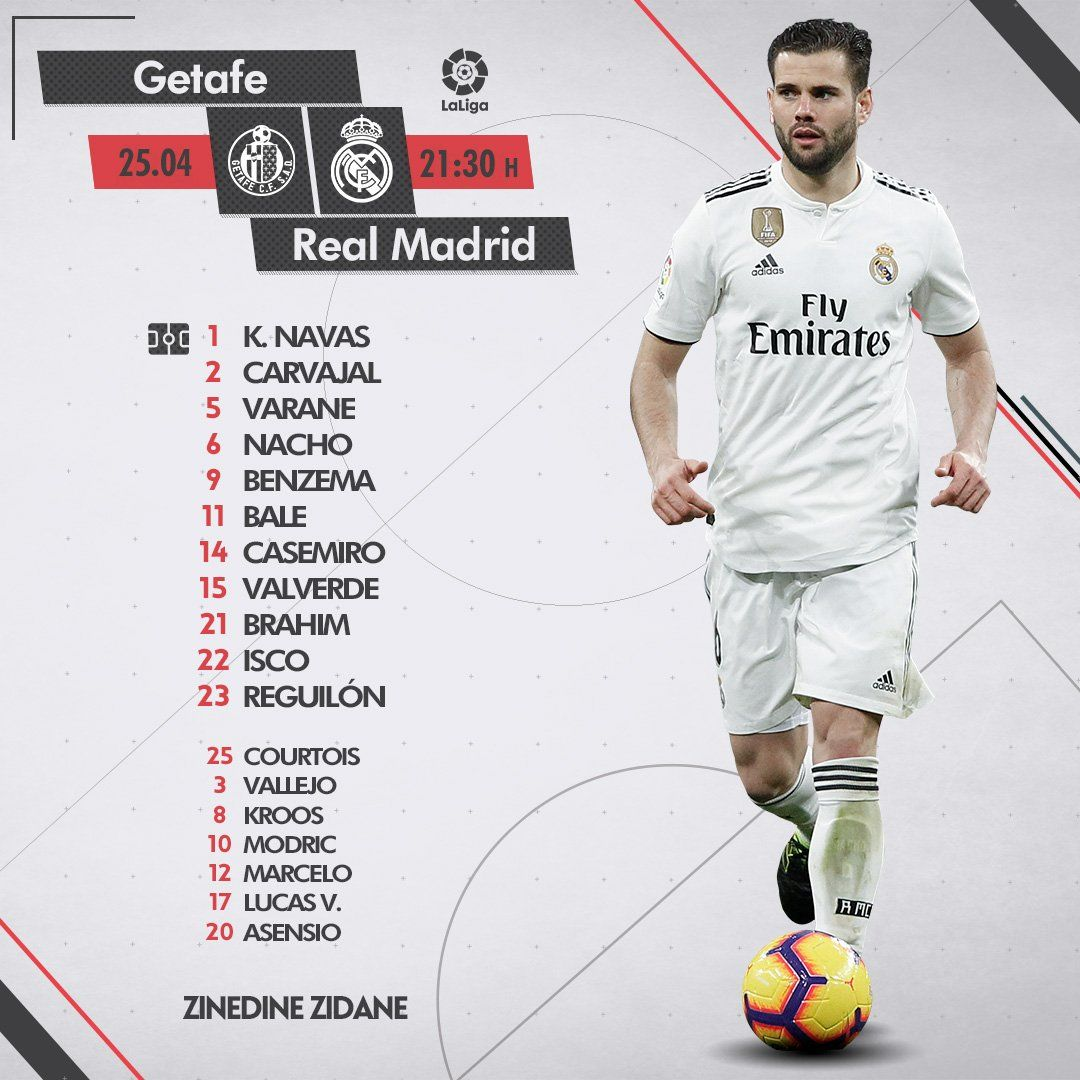 Our Starting Xi Against Getafe Away Sports Graphic Design Soccer Pro Sport Inspiration
