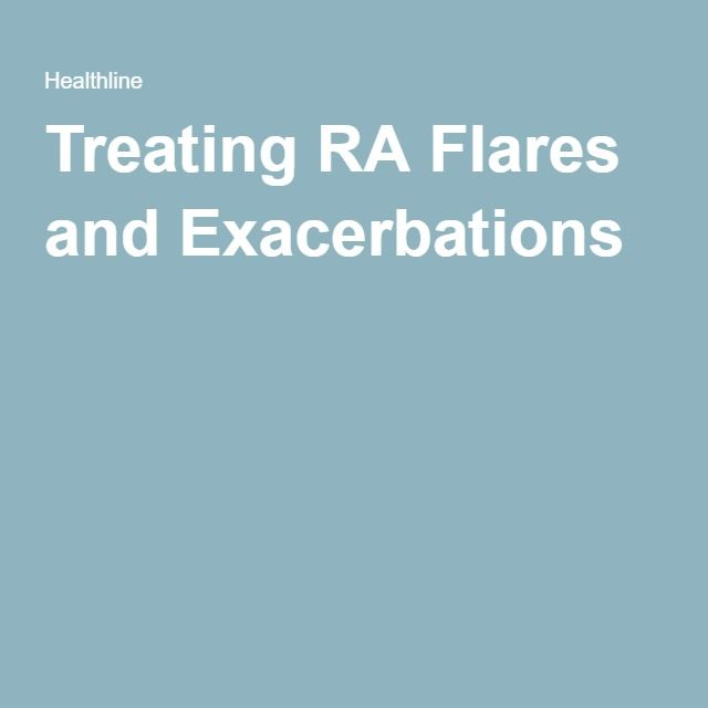 Treating RA Flares and Exacerbations