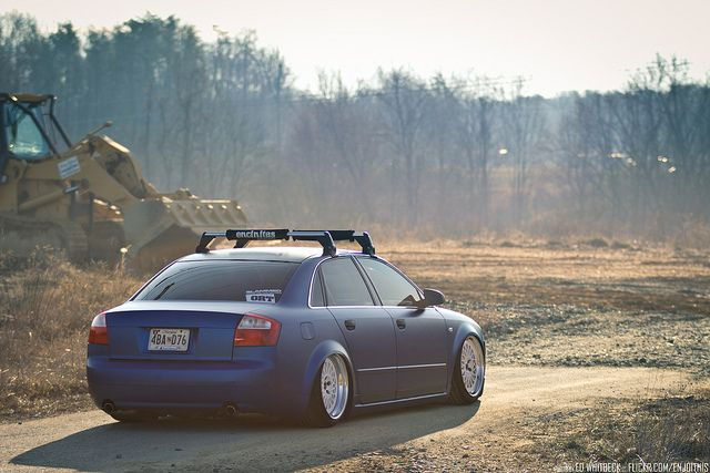 """Marc's Bagged & Wrapped Audi A4 """"Paint is dead"""" by WhitbeckPhoto.com, via Flickr"""