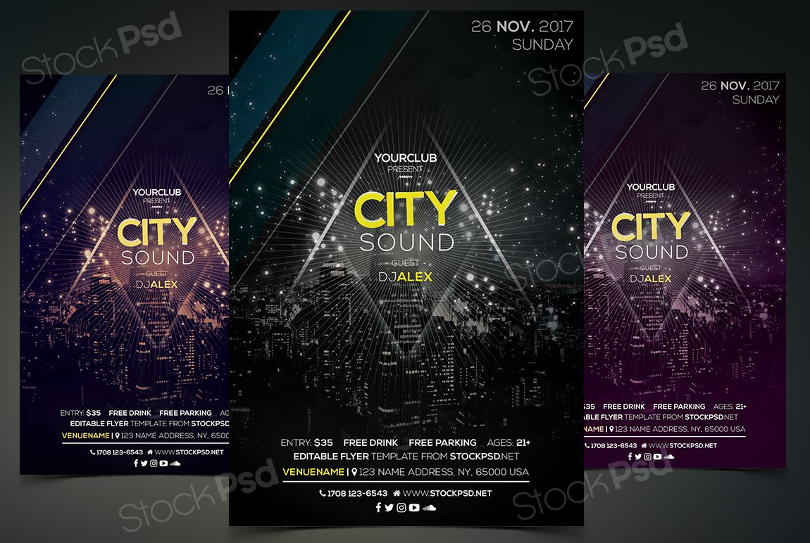 free event flyer template