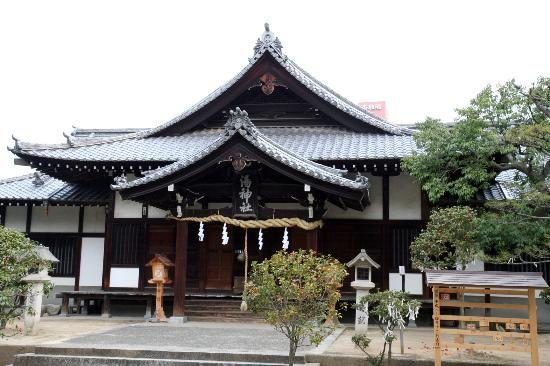 湯神社です - Picture of Yu Shrine, Matsuyama