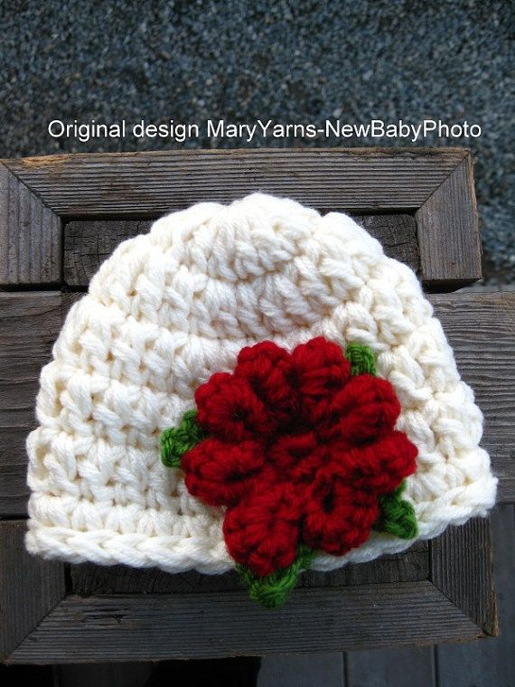 Christmas Hat Newborn Baby Photo prop – Photography Baby Hat all Babies