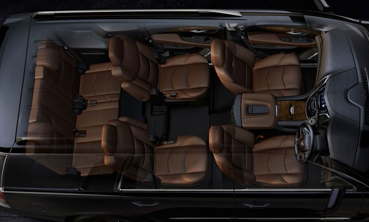 GMC Yukon XL 2018 Interior Design