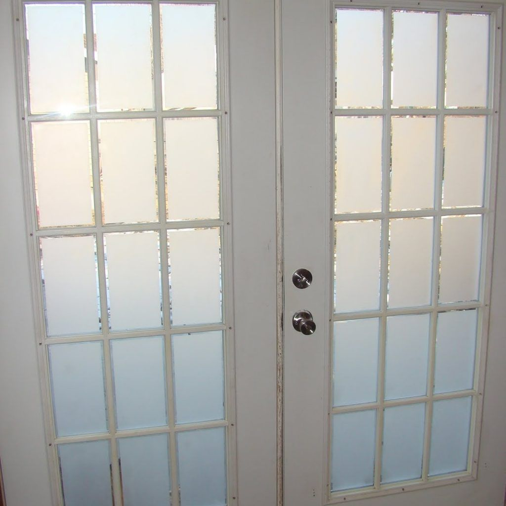 Frosted Interior French Doors Httplindemedicalwriting