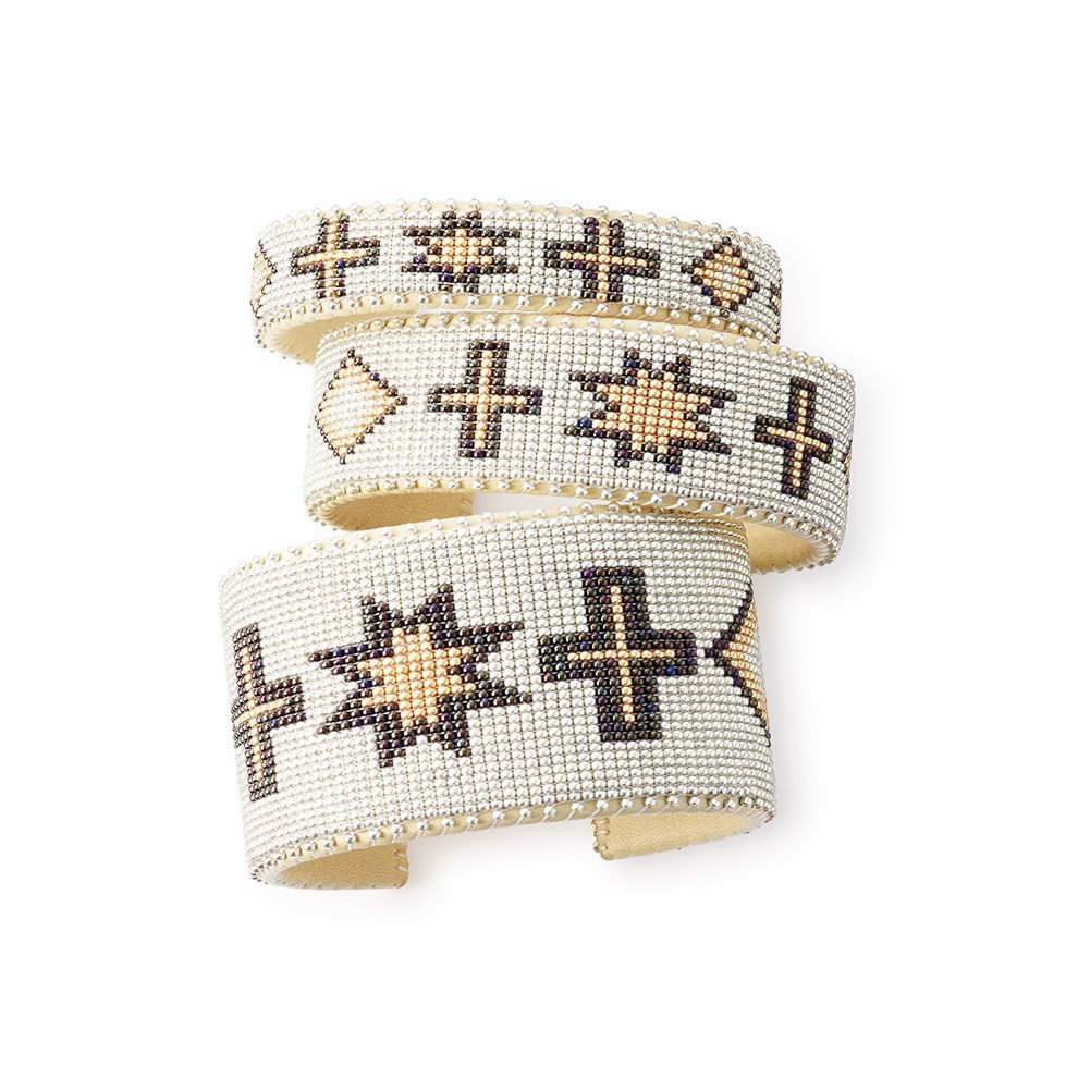 Etkie works with Native American artisans in New Mexico to