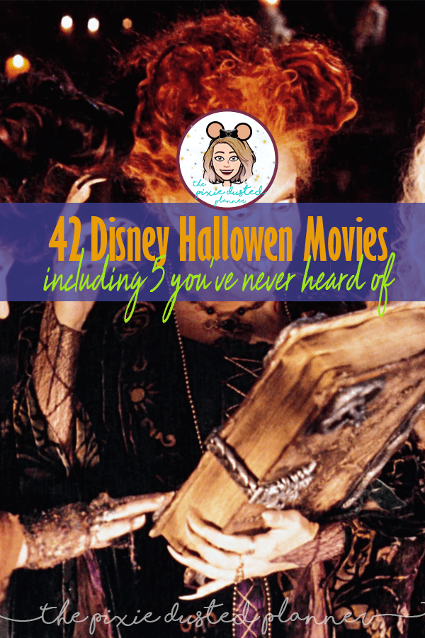 42 best disney halloween movies the pixie dusted planner