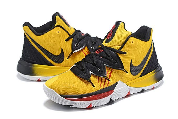 fd392c3e92f9 Mens Nike Kyrie 5 Bruce Lee Mamba Mentality Tour Yellow Black-4 ...