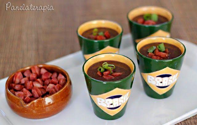 PANELATERAPIA - Blog de Culinária, Gastronomia e Receitas: Caldinho de Feijão