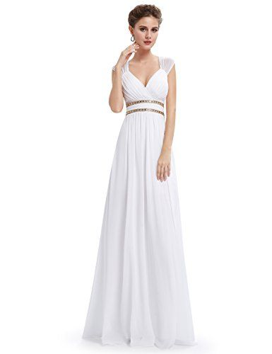 Channel your inner Grecian goddess in this flowing gown! We think ...