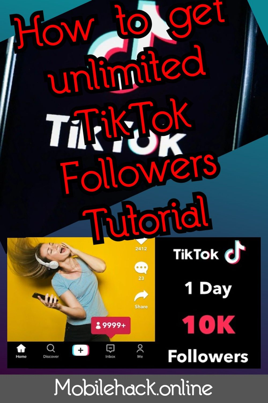 Pin On Tiktok Followers 2021