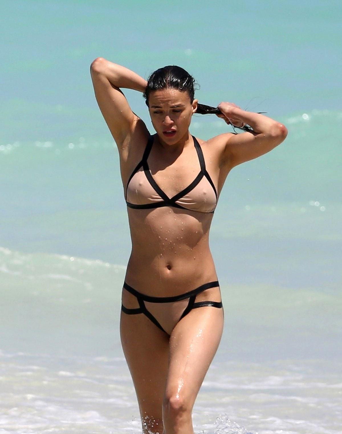 Michelle rodriguez panties - 2019 year