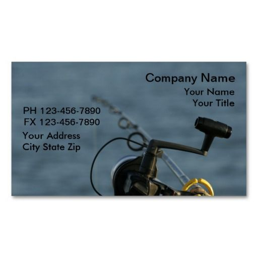 Fishing business cards fishing business cards pinterest fishing business cards colourmoves