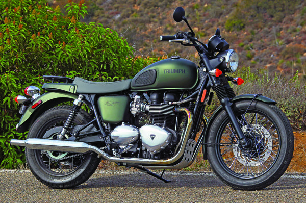 triumph t100 steve mcqueen edition, featured in the october 2012