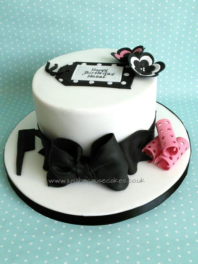 Hairdresser's Birthday Cake | Cakes & Cake Decorating ...