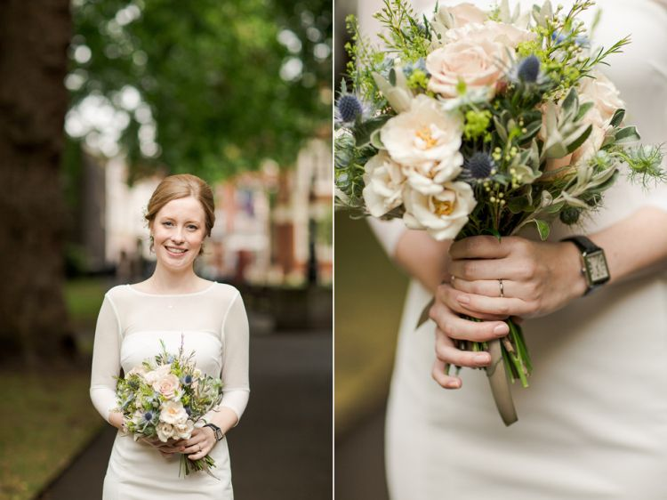 A Short, Chic Dress from Reiss for an Intimate City Wedding | Love My Dress® UK Wedding Blog