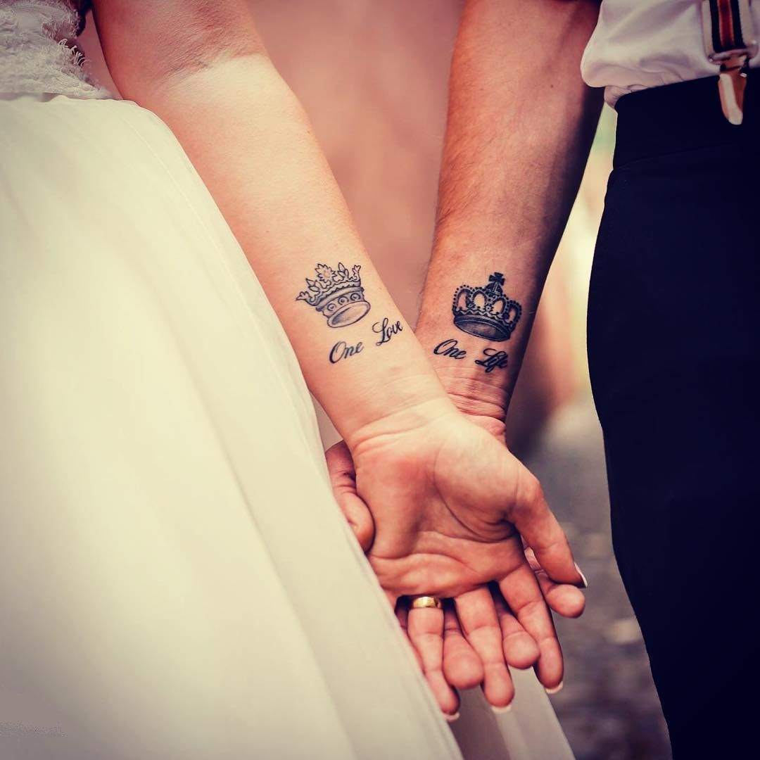 15 Wedding Tattoos To Don And Commemorate Your Big Day