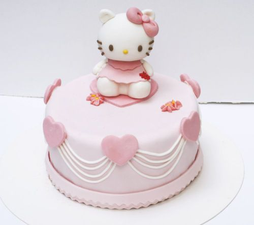 1Mini 3D Hello Kitty Fondant Cake Mold Pan Bakeware Tin Pan Paste