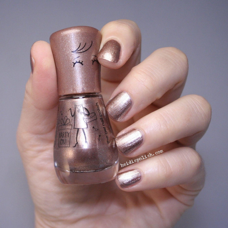 Essence cosmetics Flamingold - rosegold nail polish - www ...