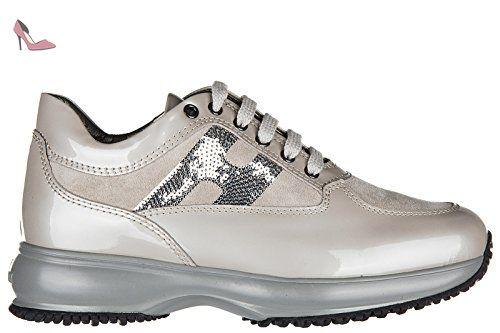 Hogan chaussures baskets sneakers enfant filles en cuir
