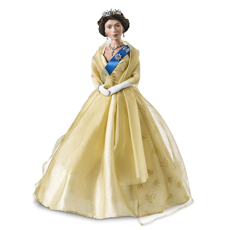 The AshtonDrake Galleries 'Our Queen' Wattle Dress