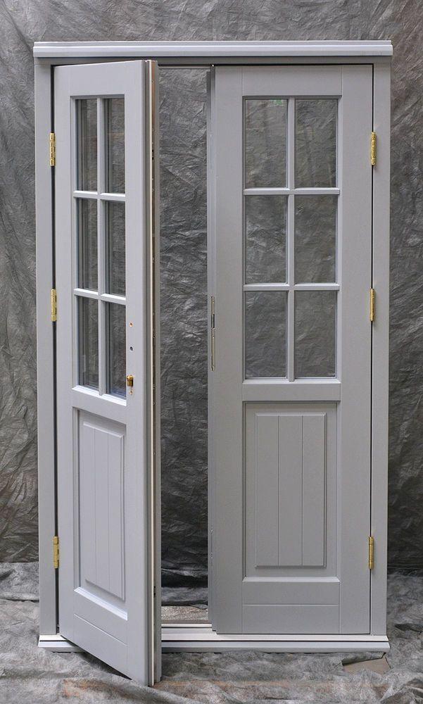 timber wooden georgian french doors made to measure bespoke