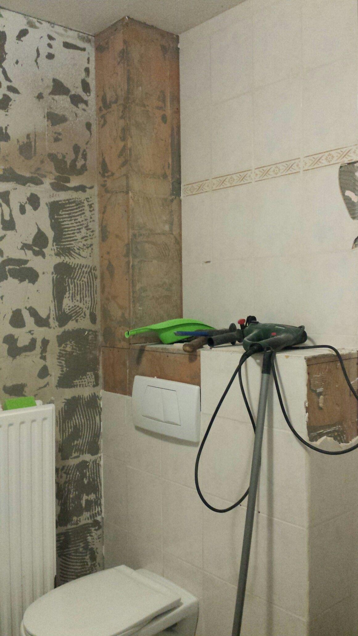 Slopen in de badkamer 3 | Wonen aan het Waterland Emmeloord ...