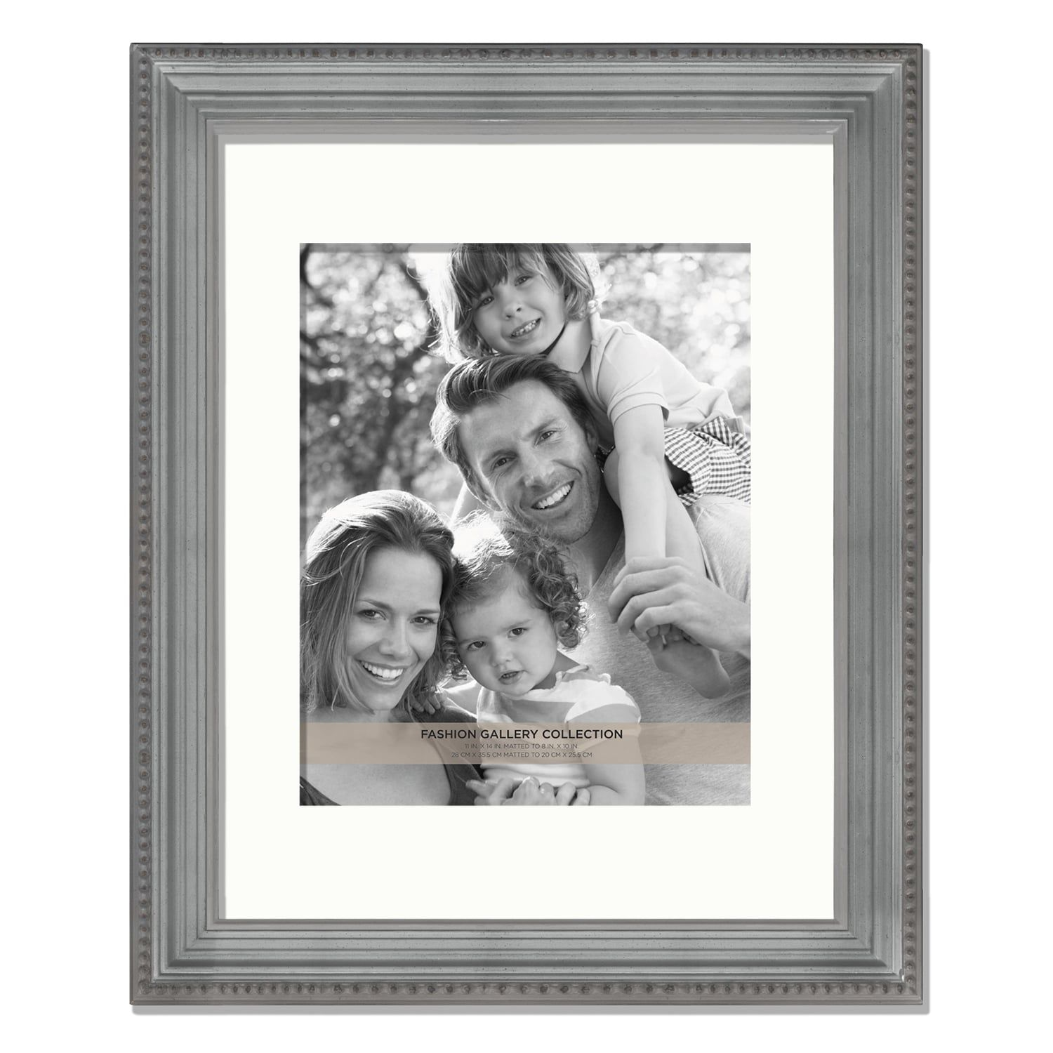 Fashion Gallery Collection 8 X 10 Beaded Frame Fashion Gallery Summer Family Photos Frame