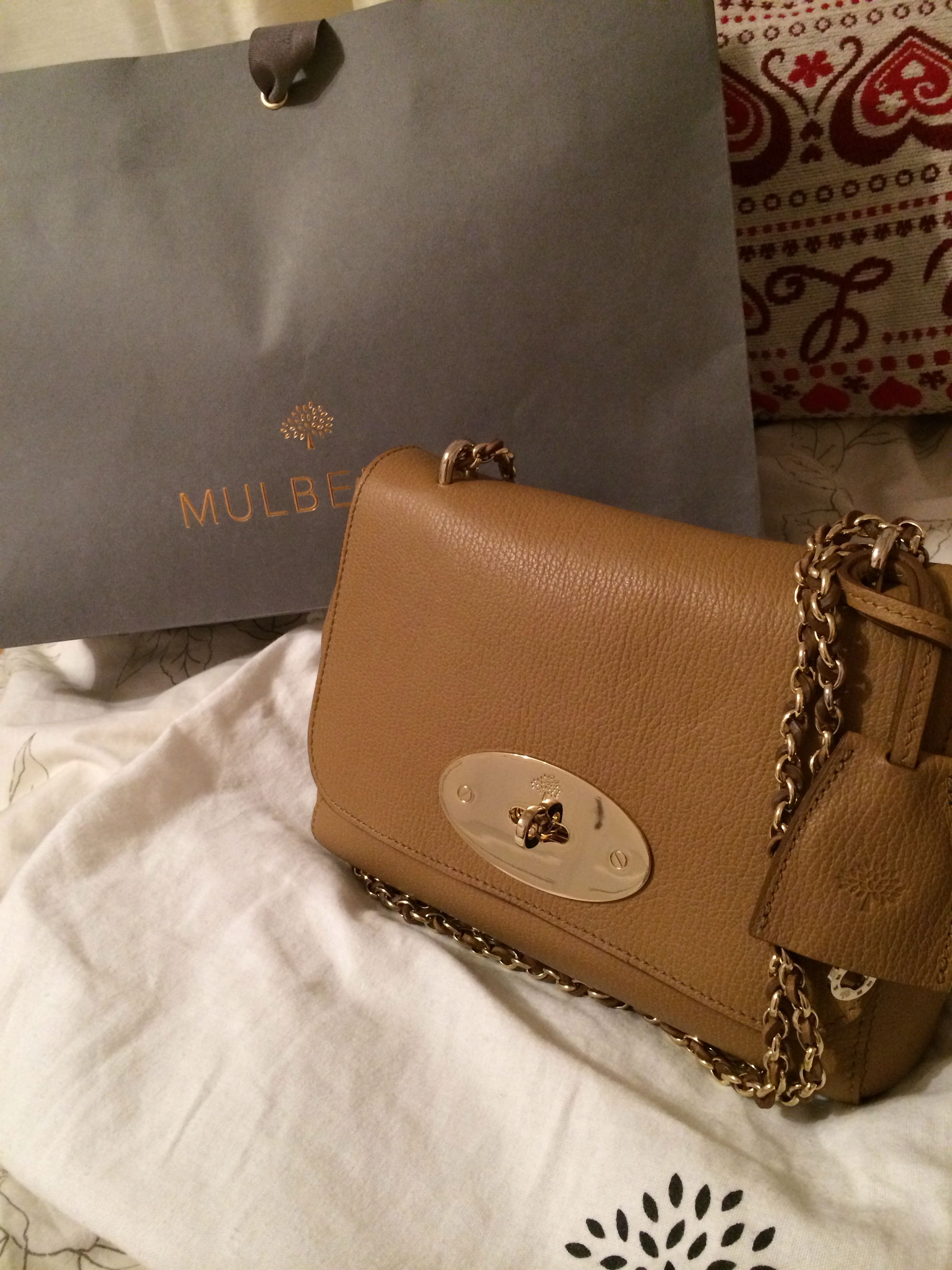 Mulberry Medium Lily in Deer Brown. bag 0796285982cce