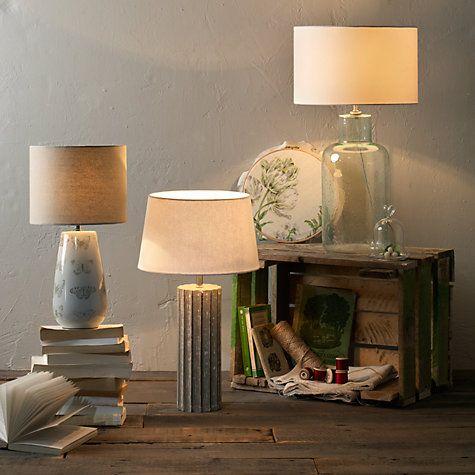 buy john lewis heather bubble glass table lamp online at john lewis