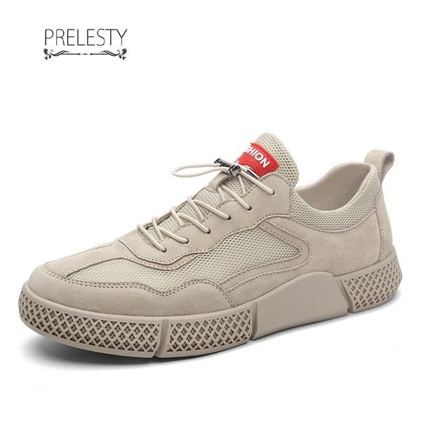 Prelesty Summer Trendy Design Comfortable Hip Hop Shoes Casual Sneakers Handsome